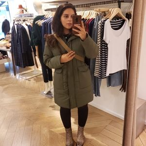 Everlane Long Puffer size M